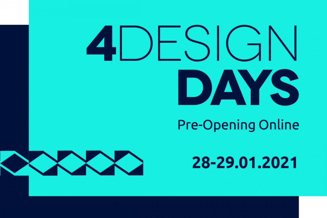 Oglądaj 4 Design Days Pre-Opening Online! O tym będziemy rozmawiać