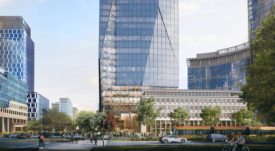Nowy wieżowiec w Warszawie. To projekt UN Studio i Polsko Belgijskiej Pracowni Architektury Projekt