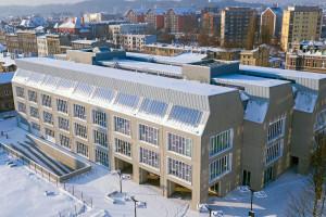 LPP Fashion Lab z zielonym biurowcem. To projekt JEMS Architekci