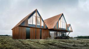 RE: BRRRDA HOUSE - projekt spod kreski Marcina Tomaszewskiego inspirowany bryłą słynnego domku letniskowego