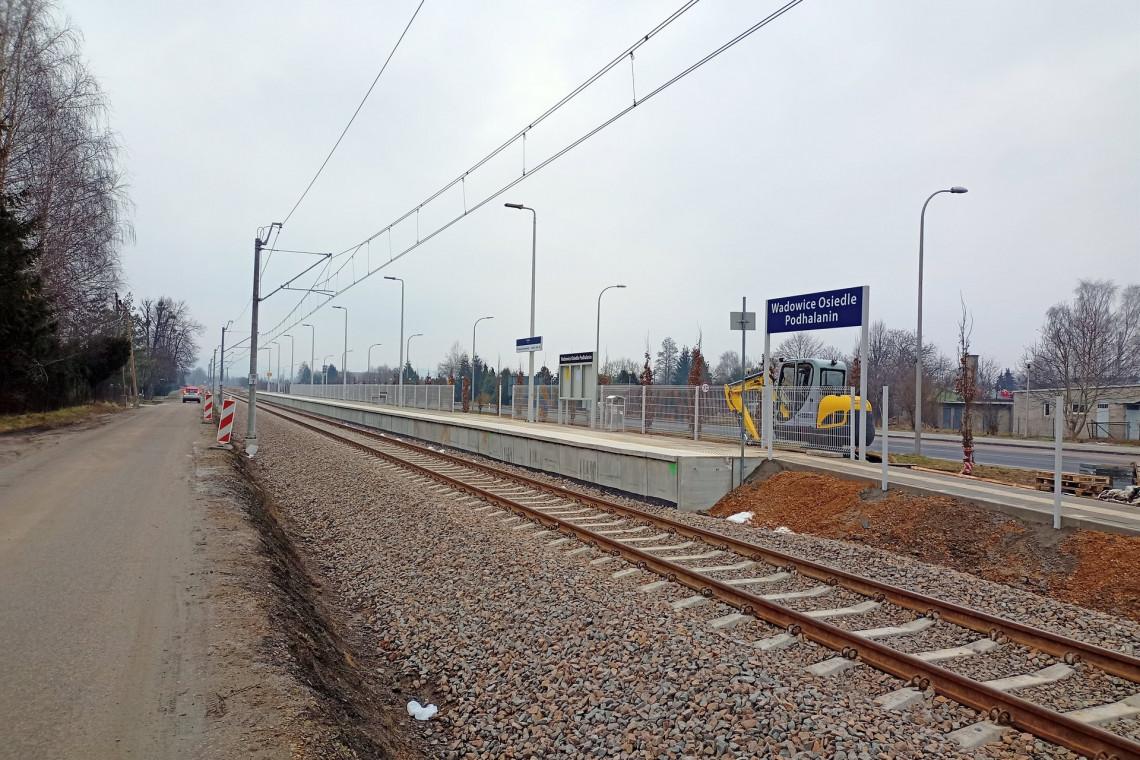 W Wadowicach oddano do użytku nowy przystanek kolejowy
