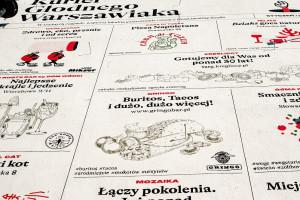 W Warszawie powstał mural wspierający w trudnych czasach lokalną gastronomię