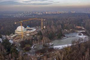 Trwa rozbudowa Planetarium Śląskiego w Chorzowie. Zaglądamy na plac budowy!