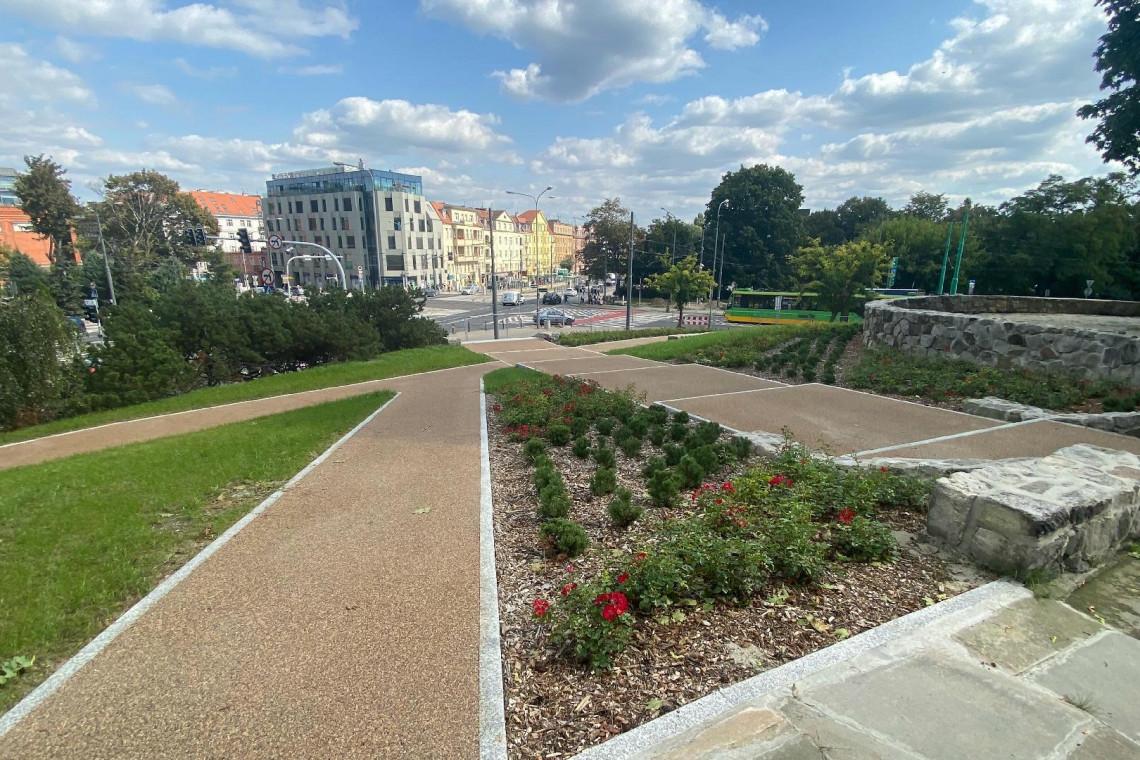 Zabytkowy Park Drwęskich w Poznaniu już gotowy