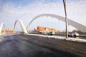 Wiadukt Biskupia Górka w Gdańsku już gotowy