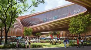 Nowy projekt Zaha Hadid Architects: futuryzm spotyka tradycyjną architekturę Chin