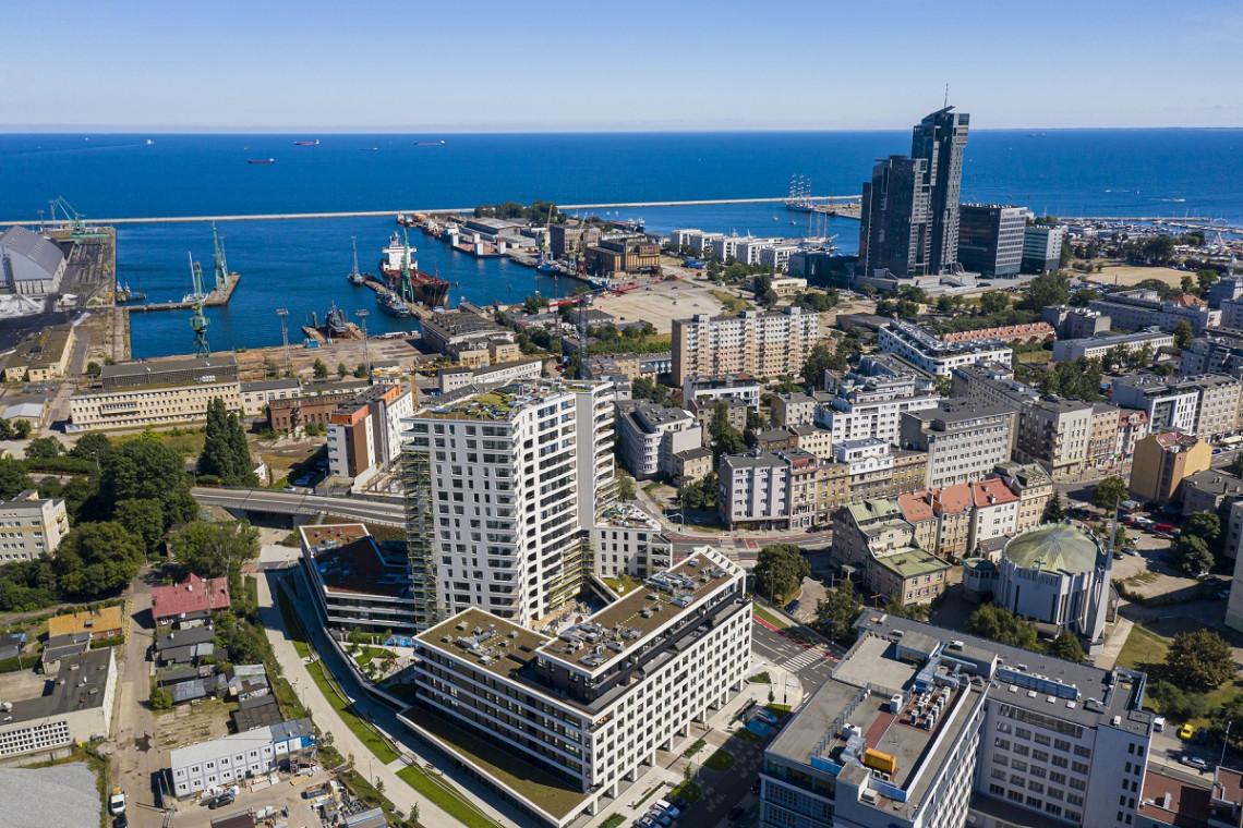 Kompleks mieszkaniowo-usługowy Portova doceniony przez Radę Miasta Gdyni