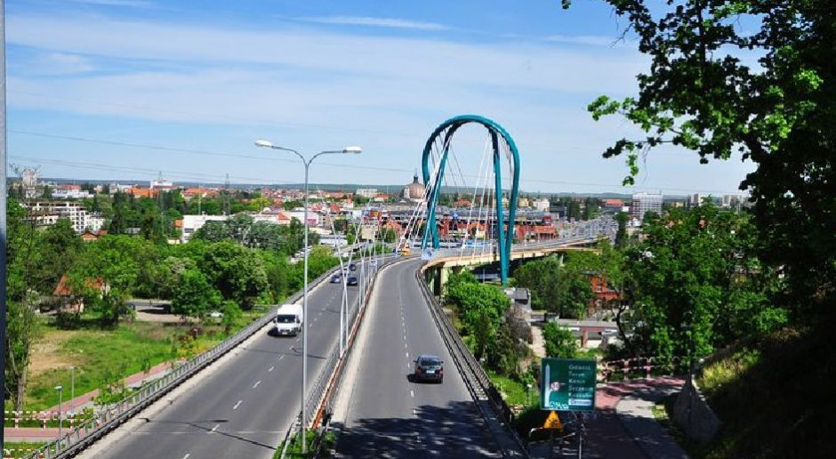 Most Uniwersytecki w Bydgoszczy wyłączony z ruchu z powodu wady projektowej. Miasto podejmuje działania