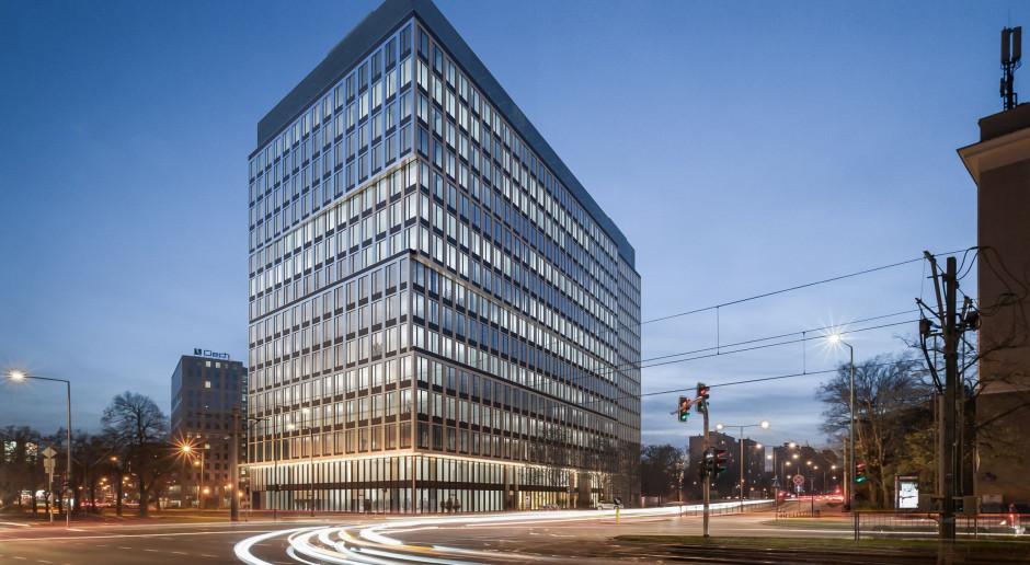 Co słychać na budowie biurowca spod kreski PRC Architekci?