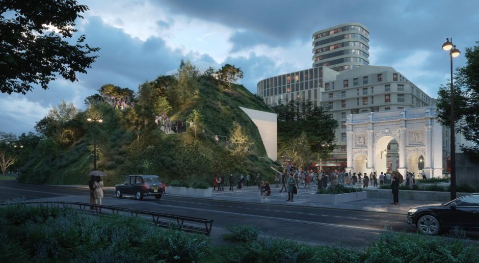 MVRDV zaprojektowali… zielone wzgórze w centrum miasta
