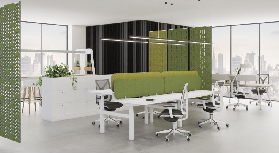 Elastyczna przestrzeń biurowa: sposób na skuteczne i efektowne podziały
