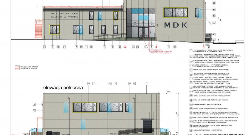 Rybnicki MDK z  nową siedzibą