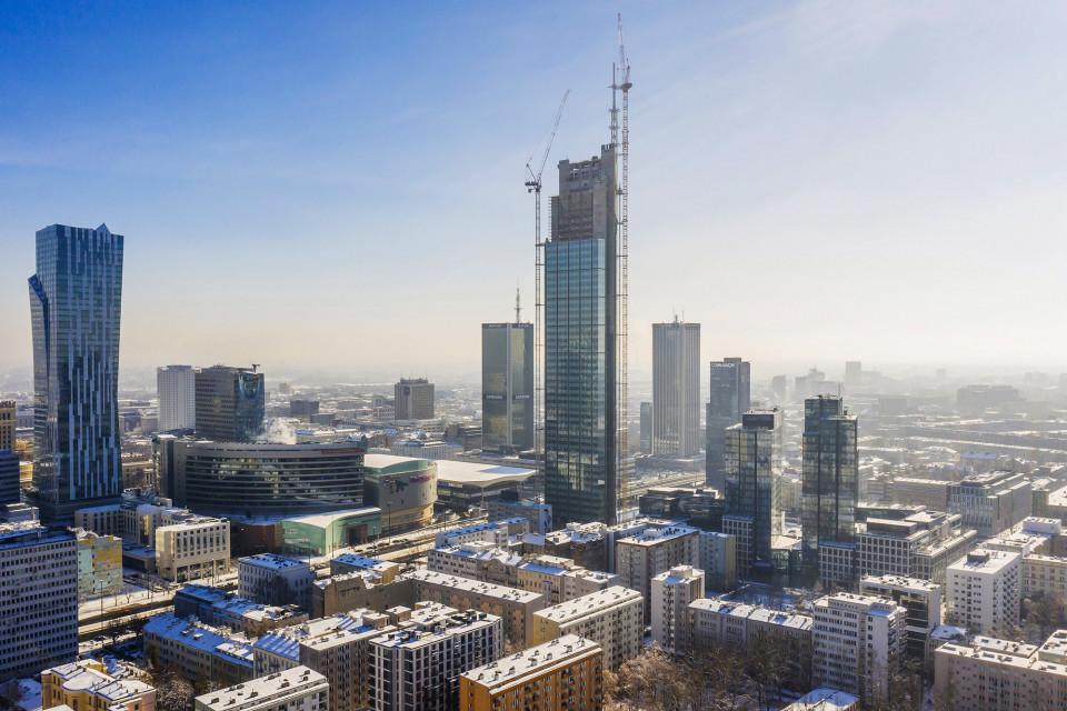 Warszawskie Varso Tower najwyższym wieżowcem w Europie