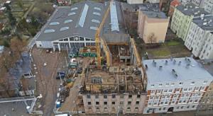 Sprawdzamy, co słychać na budowie Muzeum Techniki i Komunikacji w Szczecinie