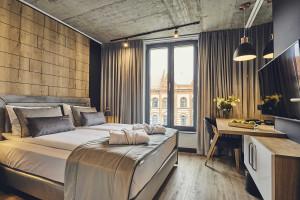 Zaglądamy do wnętrz urokliwego butikowego aparthotelu w Krakowie