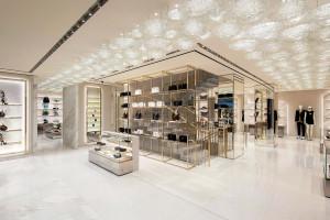 Nowy butik Versace w Paryżu. To projekt Gwenael Nicolas!