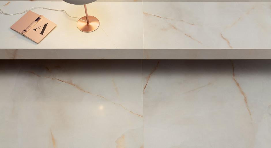 Biały bursztyn inspiruje projektantów płytek ceramicznych