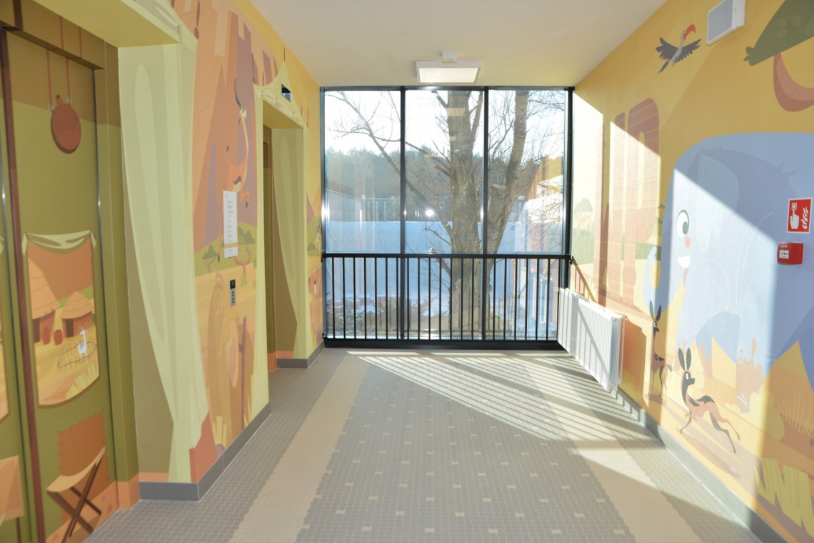 Akustyczne sufity w Centrum Zdrowia Dziecka