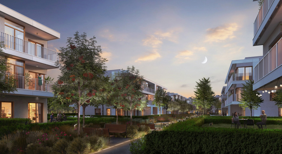 Zielone rozwiązania w projekcie i całkowicie zielona energia zasilająca budowę