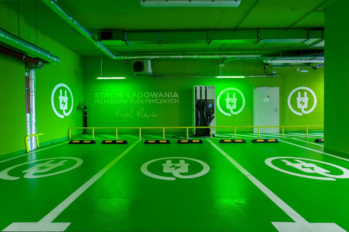 To najszybsza w Warszawie stacja do ładowania aut elektrycznych
