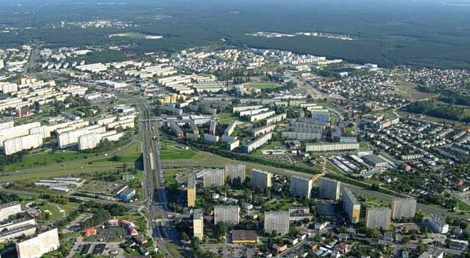 Stare miasto w Bydgoszczy z kolejnymi
