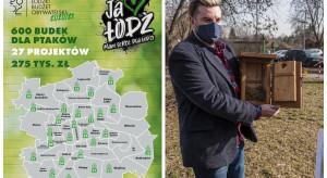 600 budek lęgowych dla ptaków do końca marca w Łodzi