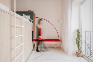 Small apartment design w Poznaniu spod kreski Miłych Młodych Ludzi
