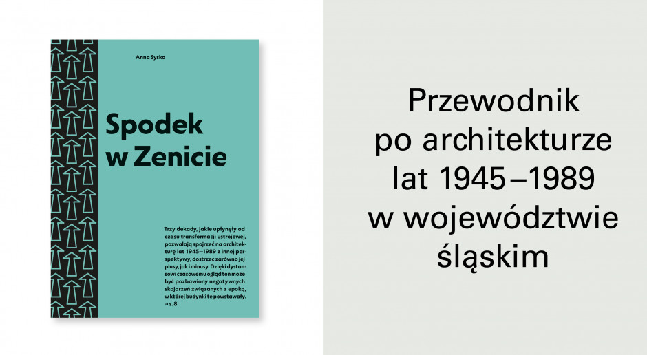 Nowy przewodnik po architekturze: Spodek w zenicie