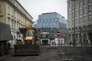 Rusza przebudowa ścisłego centrum Warszawy