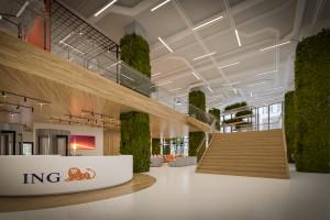 Nowa siedziba ING Tech Poland w Katowicach przykładem postcovidowego biura przyszłości