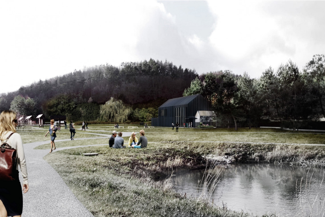 """Nowoczesny budynek w Leśnym Ogrodzie Botanicznym """"Marszewo"""" już z wykonawcą"""