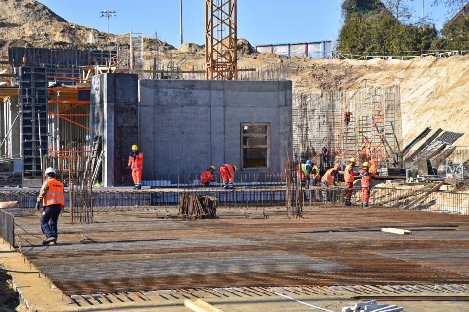 Zaglądamy na budowę Stadionu Miejskiego w Szczecinie
