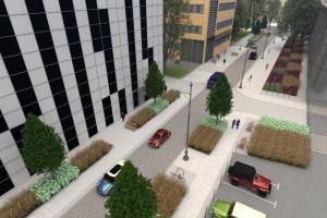 Nowe, zielone uliczkami w centrum Łodzi. Powstaną jeszcze w tym roku