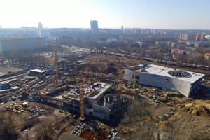 Fabryka Wody w Szczecinie. Trwają intensywne prace budowlane