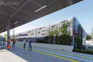 Będzie więcej stali, szkła i przestrzeni. Remont dworca kolejowego we Wrzeszczu coraz bliżej