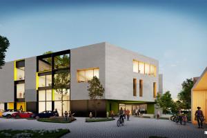 Horizone Studio zaprojektowali ekologiczny zespół szkolno-przedszkolny w Krakowie