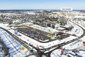 Nowa bryła handlowa w Iławie