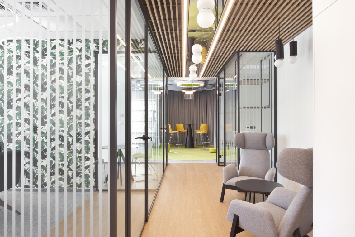 Pracownia Concept Space zaprojektowała pokazową przestrzeń do pracy w warszawskim biurowcu