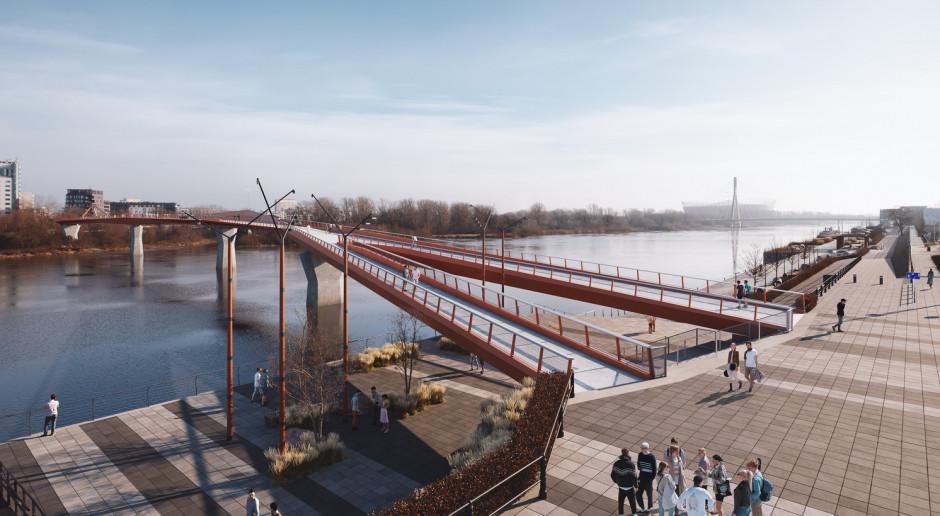 W Warszawie powstanie jeden z najdłuższych mostów pieszo-rowerowych na świecie