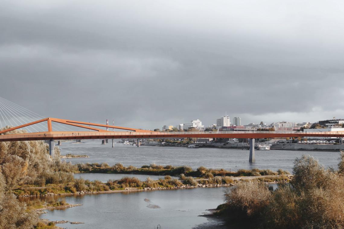 Ruszył przetarg na budowę jednego z najdłuższych mostów pieszo-rowerowych na świecie. Powstanie w Warszawie