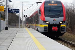 Nowe wygodne przystanki kolejowe w aglomeracji łódzkiej