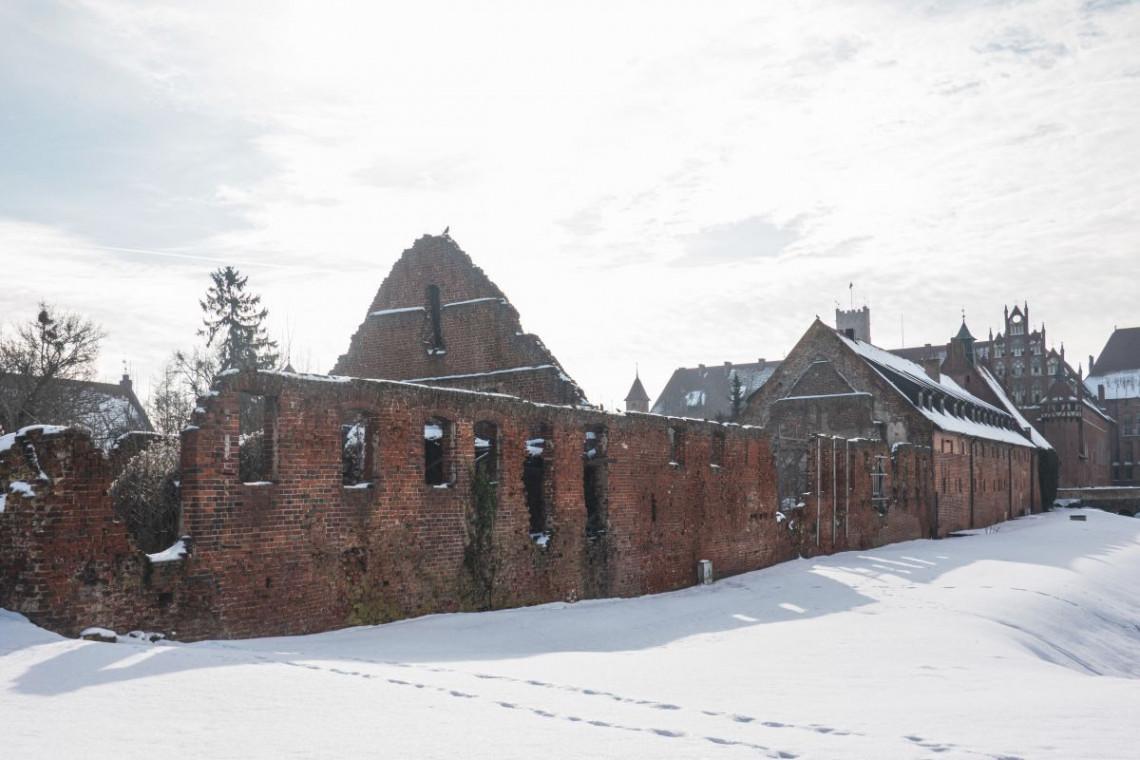 Na zamku w Malborku rozpoczyna się projekt rewitalizacji podzamcza