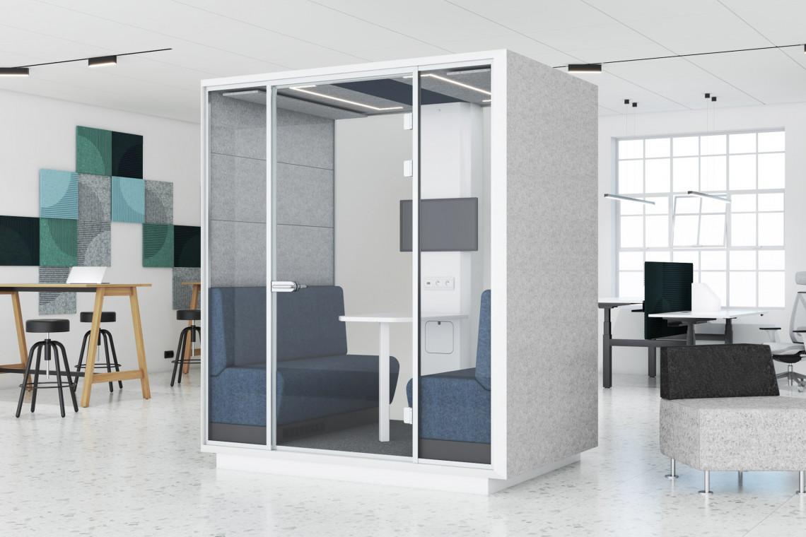 Boksy akustyczne: praktyczne rozwiązanie dla każdego biura