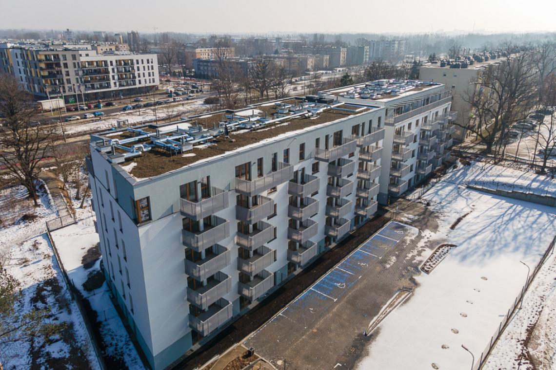 Na warszawskiej Białołęce wyrosła zielona inwestycja