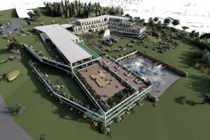 Projekt Sanatorium w Birczy. To praca dyplomowa studentki Politechniki Rzeszowskiej