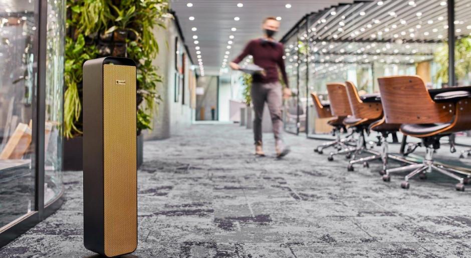 Wyposażenie biur: lampy do dezynfekcji to nowy standard