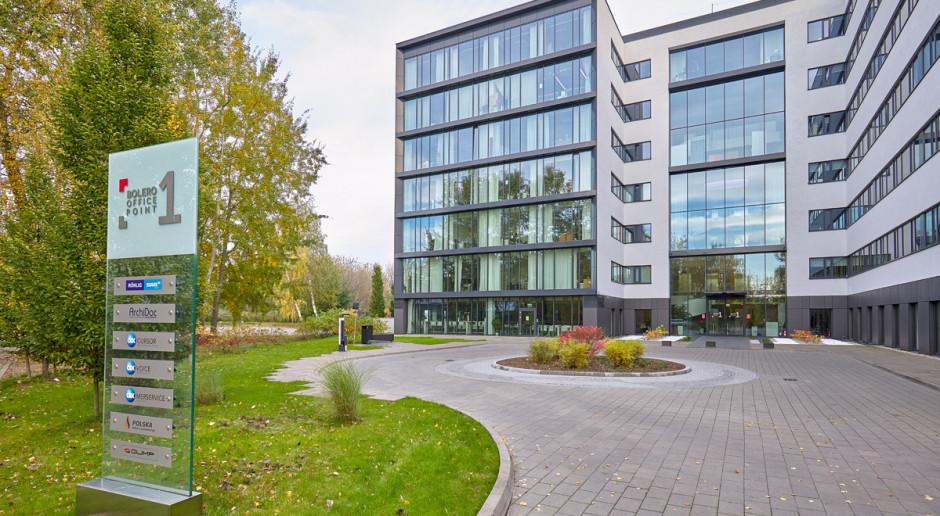 Kompleks biurowy Bolero Office Point z certyfikatem za ekologię