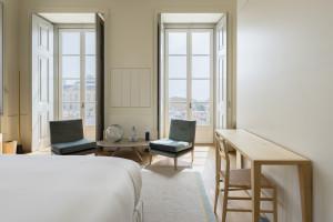 Hotel butikowy w Lizbonie. Piękne pałacowe wnętrza po przebudowie