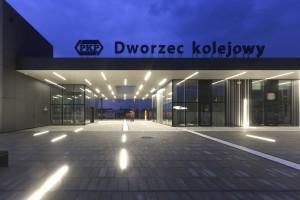 Dworzec w Oświęcimiu z nagrodą architektoniczną im. Stanisława Witkiewicza