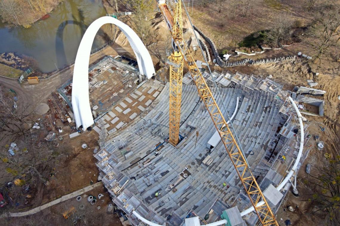 Budowa Teatru Letniego w Szczecinie wkracza w nowy etap